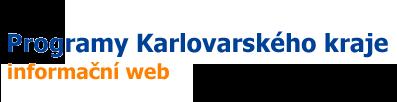 Programy Karlovarského kraje